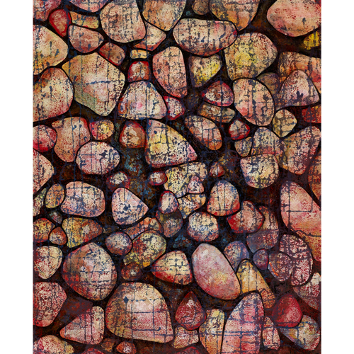 ボスク城の石