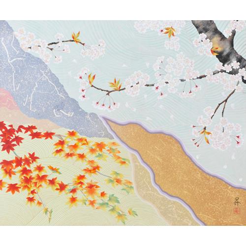 京洛桜楓図