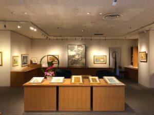 本日より、リウボウ7階美術サロンにて佐藤潤絵画展を開催いたします。