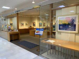 本日よりリウボウ7階美術サロンにて、マークエステル展を開催いたします。