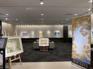 本日より大丸東京店10階美術画廊にて、佐藤潤絵画展を開催いたします。